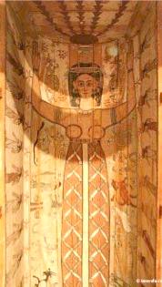 Posture du Ka dans le sarcophage de nout