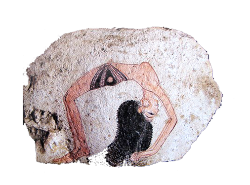 posture yoga egyptien