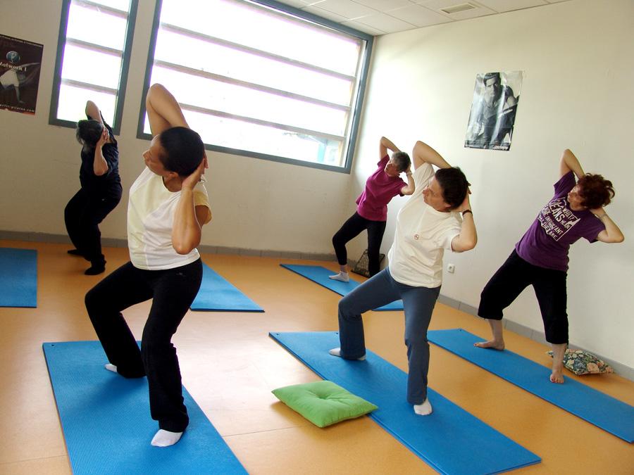 yoga egyptien - aigle flexion