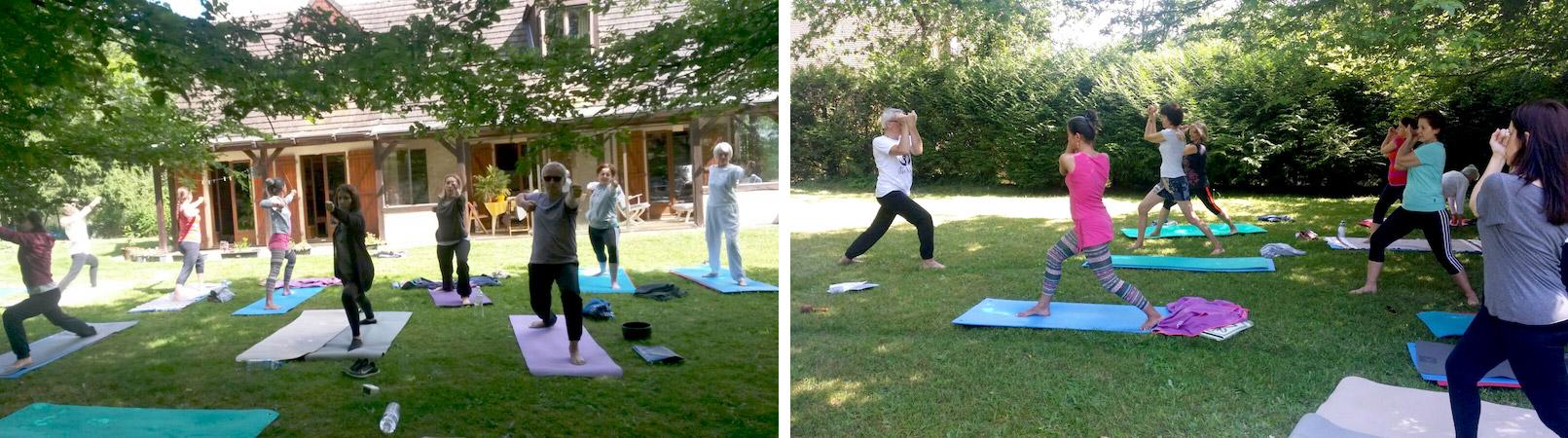 Stage trimestriel Yoga centre