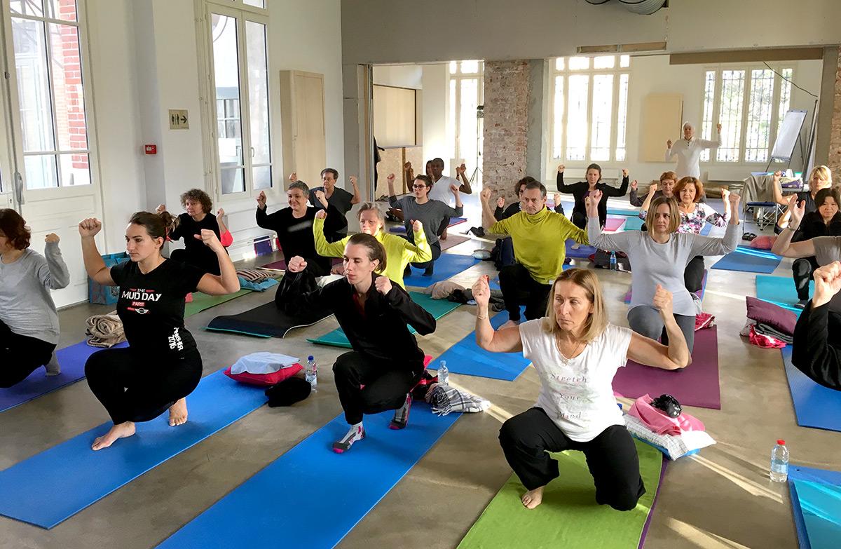 stage trimestriel Yoga Intégral de Yoga Centre Nanterre