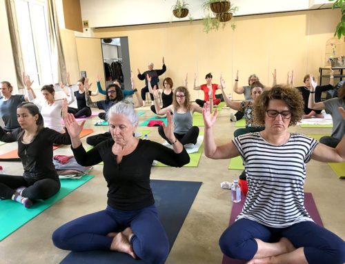 Galerie photo du stage YOGA CENTRE Printemps 2019 au château de Nanterre